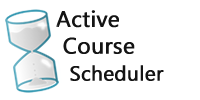 Active Course Scheduler Logo